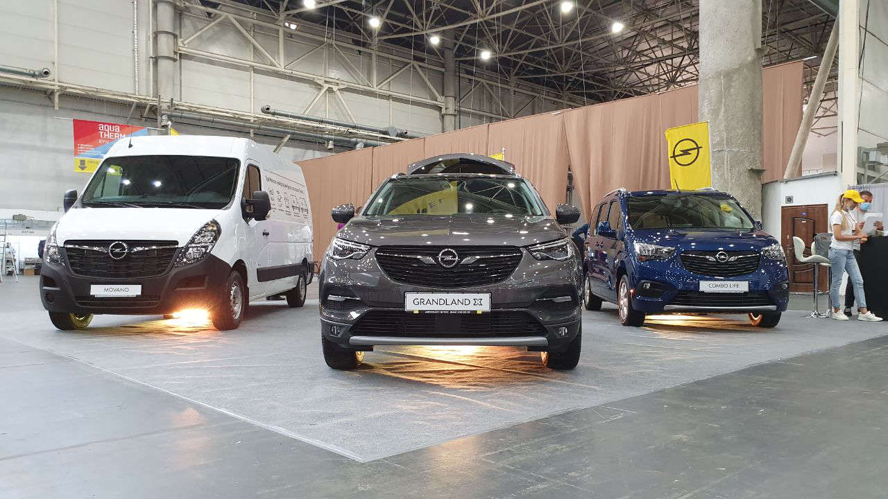 Opel навиставці COMAUTOTRANS