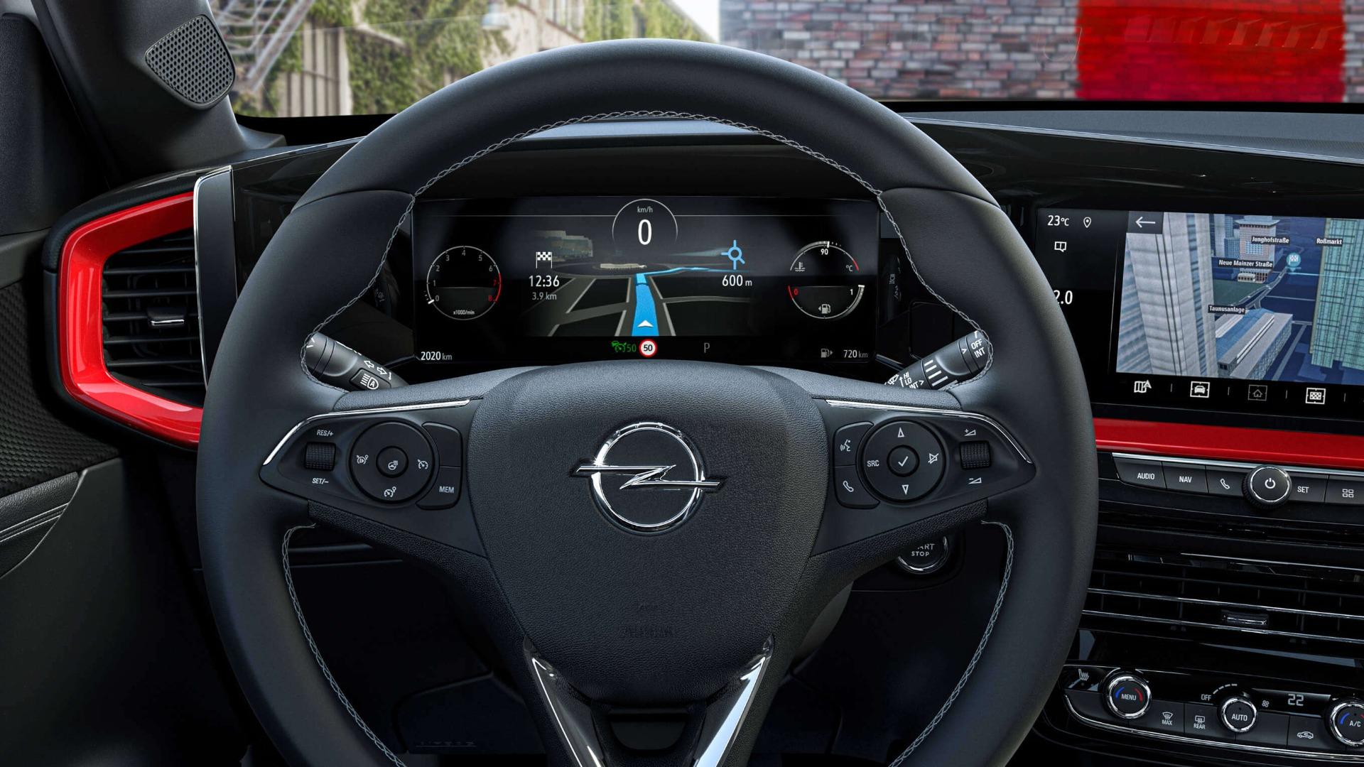 Opel Mokka, цифрова панель приладів