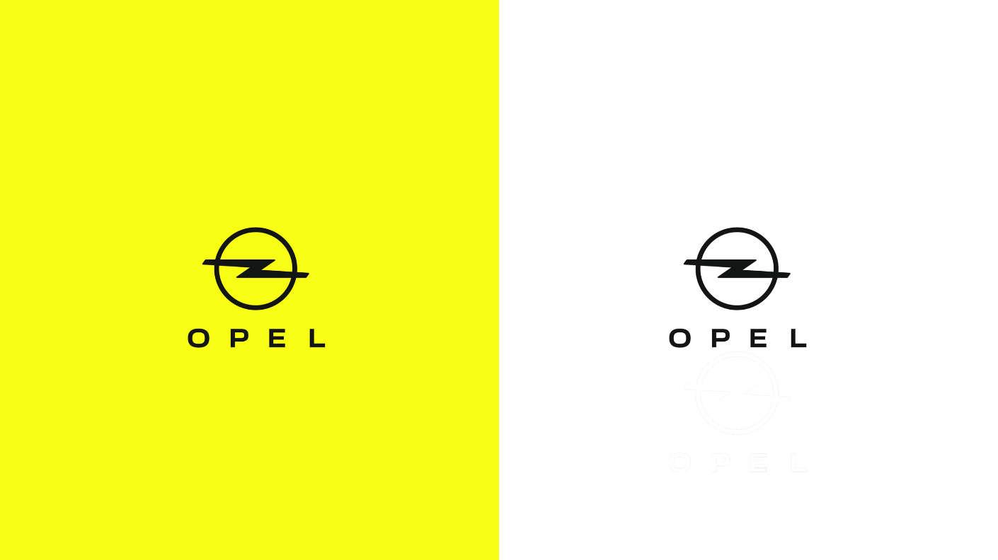 Оновлений логотип Opel