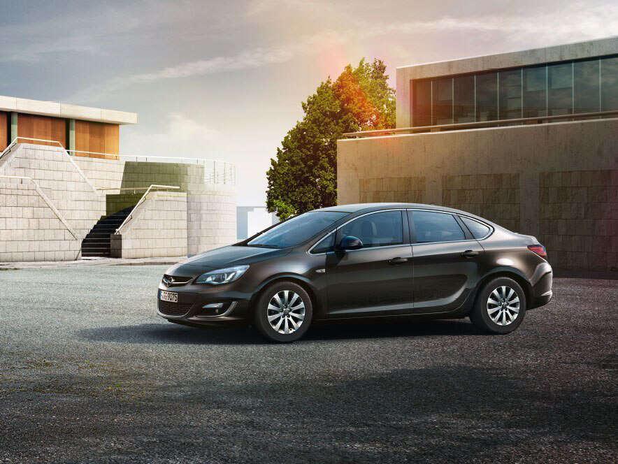 Opel Astra, вигляд cпереду
