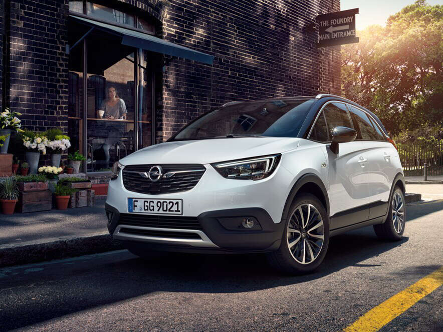 Opel CrosslandX, вигляд cпереду