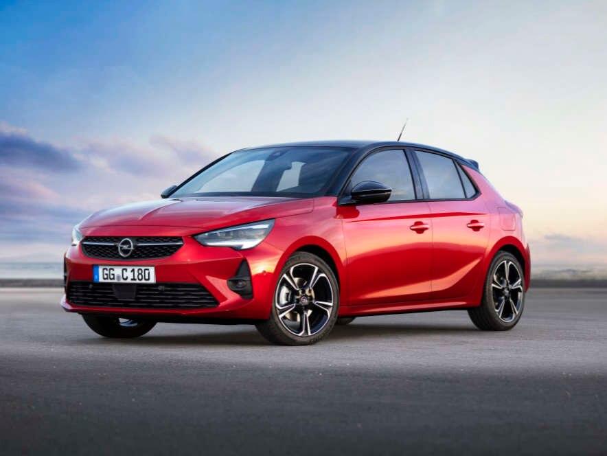 Opel Corsa, зовнішній вигляд