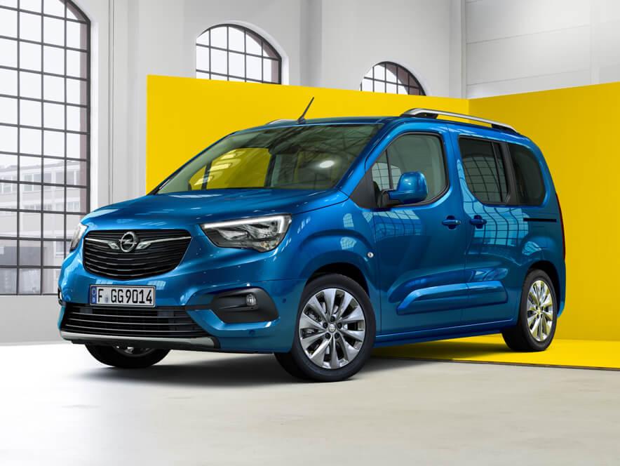 Opel Combo Life, вигляд спереду
