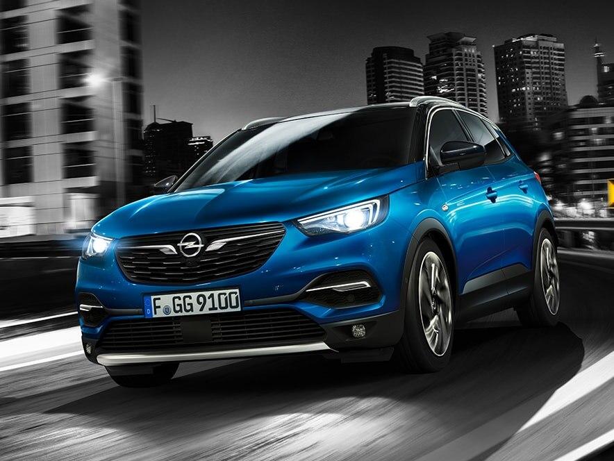 Opel GrandlandX, вигляд зпереду
