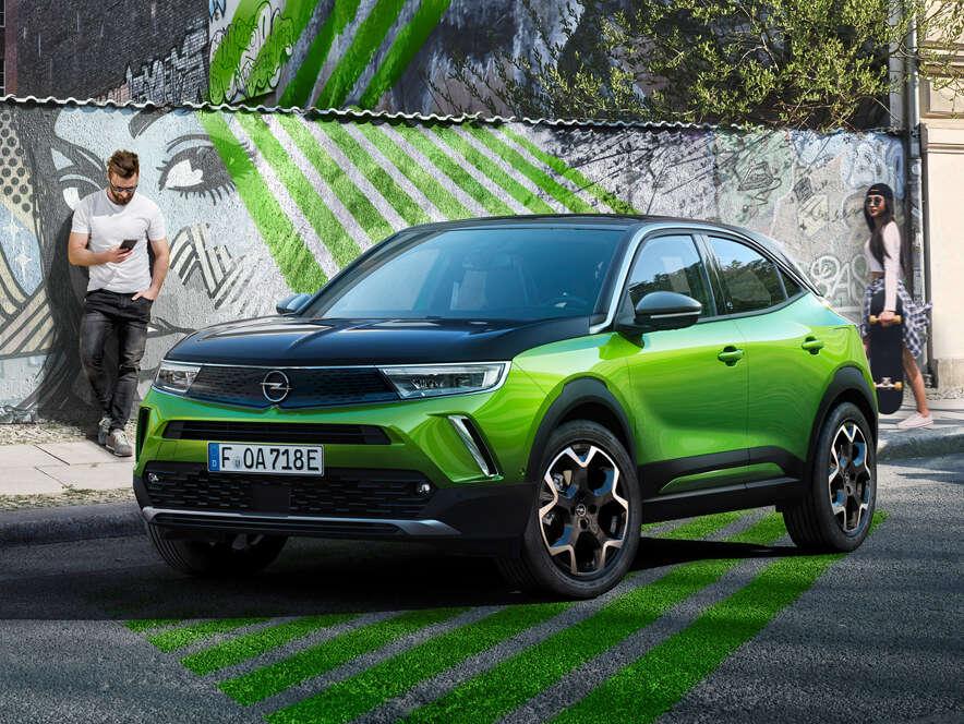 Opel Mokka, зовнішній вигляд вражає