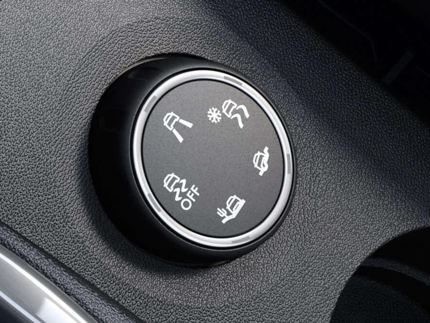 Opel Crossland, Grip Control