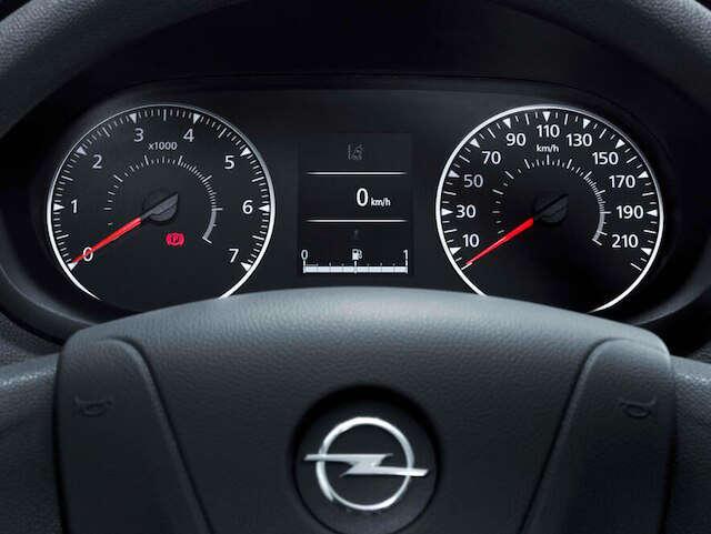 Opel, Movano, комфорт, бортовий комп'ютер