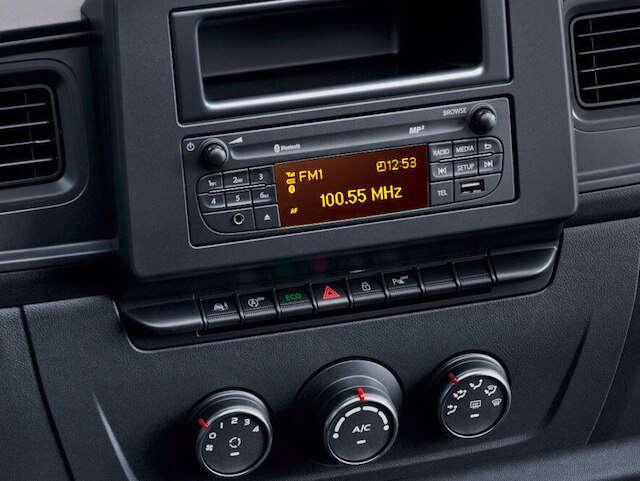 Opel, Movano, сумісність, радіоприймач
