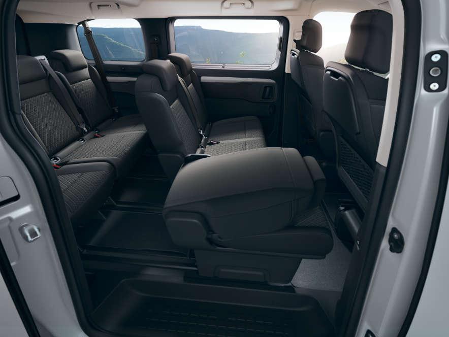 Opel, Zafira Life, інтер'єр салону, сидіння